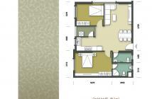 Bán 1518 tòa CT2B chung cư Tân Tây Đô, 80m2 2pn,2wc. giá 12tr sổ đỏ vào ở luôn