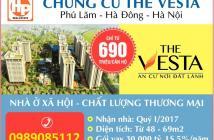 Nhận đăng ký mua chung cư the vesta hà đông giá chỉ từ 690 triệu/căn