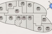 Bán căn AP2 chung cư Ellipse tower giá 16tr,dt 103,2m  tầng 16AP2