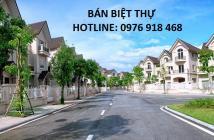 Bán biệt thự nhà vườn 105m2, 132m2, 147m2, khu ĐTM Trung Văn Hancic tổng nhà giá rẻ