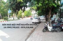 Cần bán gấp nhà 108m2 dãy TT17 mặt Phố Nguyễn Khuyến, Hà Đông, mặt đường 40m