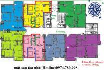 Bán căn hộ intracom 2, số 2 cầu diễn có sổ đỏ, chính chủ
