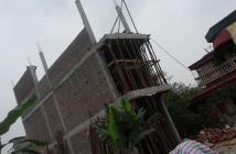 Bán nhà đang xây dựng tại xóm Nhì 3 tầng