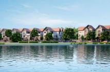 Bán biệt thự mặt hồ vị TT2 thành phố Giao Lưu, DT 200m2, mặt tiền 12m, sổ đỏ cc