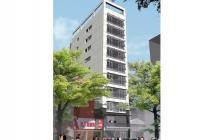 Mặt phố Nguyễn Trường Tộ, Quận Ba Đình, 90m2 x 9 tầng, mặt tiền 5m, đông vui tấp nập
