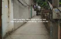 Bán nhà mới 4 tầng, 40m2, ngõ 572 Ngọc Thụy, LB hướng TN, giá 2,45 tỷ