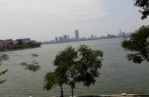 Bán nhà mặt hồ Tây, số 98 phố Xuân Diệu, dt 310m, giá thỏa thuận. Phù hợp để xây khách sạn, nhà hàng.