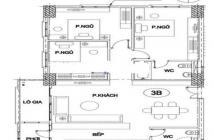 Cần bán căn góc đẹp nhất tòa nhà 2502 chung cư Intracom 1- Trung Văn