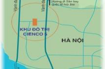 Bán biệt thự, liền kề khu ĐTM Cienco5 Mê Linh, Hà Nội