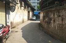 Bán nhà lô góc ô tô đỗ cửa ngõ 367 đường Bưởi, diện tích 52m2, mặt tiền 4,6m