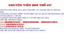 Cần bán nhà Lò Đúc, Trần Khát Chân diện tích 50m2 x 4 tầng, giá 3,75 tỷ.0963469288.