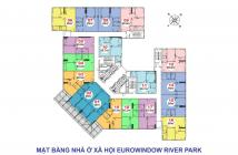 Hỗ trự tư vấn mua nhà ở xã hội, chung cư Eurowindow river Park, Đông Anh chỉ 1tỷ/căn