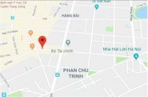 Phố Phan Chu Trinh, Hoàn Kiếm DT 446m2, mặt tiền 17m, giá 236 tỷ thông số chuẩn trên sổ