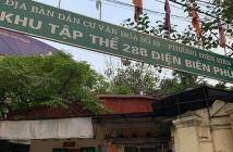 Bán nhà khu phân lô 28B Điện Biên Phủ, Dt 35m2, Mt 3.5m. Giá: 6.1 tỷ. Lh 0972829238.