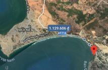 Bán gấp mặt biển Hòn Rơm 5000m2, Phan Thiết, Mũi Né, mặt biển, mặt đường 9.3tr/m2 LH 0939760222