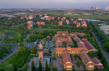 Biệt thự sinh thái mặt đường Tây Thăng Long, mật độ xây dựng 35% - 50%, giá đất chỉ 19 tr/m2