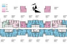 Cho thuê căn hộ Gardenia Hàm Nghi, 2 Phòng ngủ 76m2