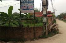 Bán Đất Sóc Sơn, Hà Nội. DT 500m2, mặt tiền 20m. Giá 2,75 tỷ có thương lượng