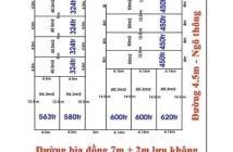ĐÔNG ANH, ĐẤT NGỌC 50m MT4.5 450 TRIỆU PHÂN LÔ ĐÃ CÓ HẠ TẦNG