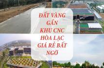 CHÍNH CHỦ BÁN GẤP LÔ ĐẤT GẦN CÔNG NGHỆ CAO HÒA LẠC 0395426678