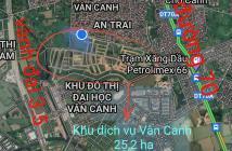 Bán 90m2 đất phân lô dịch vụ khu 25,2Ha Vân Canh Hoài Đức Hà Nội.